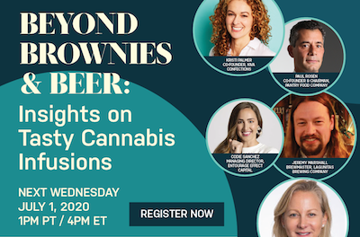 Beyond Brownies & Beer: Insights on Tasty Cannabis Infusions