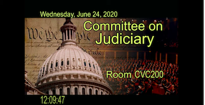 From The Horses Mouth: Video – Full Committee Hearing on Oversight of the Department of Justice