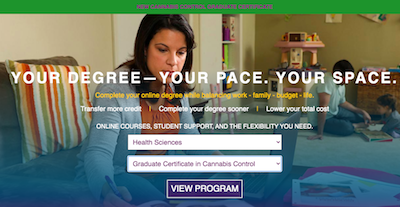 "Excelsior College  PA Launches ""Graduate Certificate in Cannabis Control"""