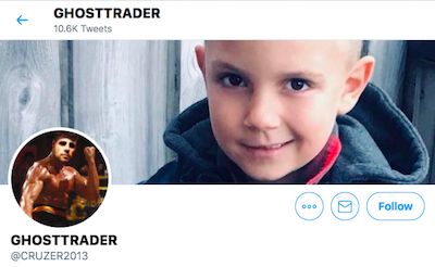 Tweet: Ghost Trader – $SHRM cease trade order  Mushroom plays gonna get massacred on Monday