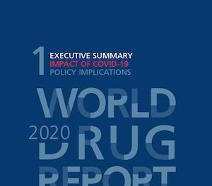 UN World Drug Report 2020 Published- An estimated 192 million people used cannabis in 2018, making it the most used drug globally.