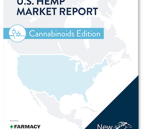 New Frontier Data – New Publication: U.S. Hemp Market Report: Cannabinoids Edition, Volume 1