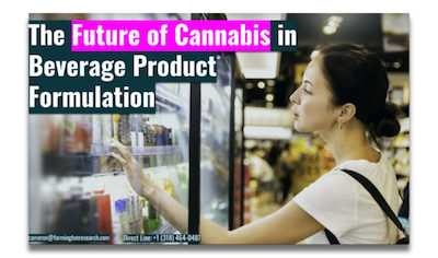 USA: Farmington Research – Free Report: The Future of Cannabis in Beverage Product Formulation