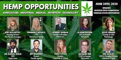 Hemp Opportunities Speaker & Investor Pitch Competition