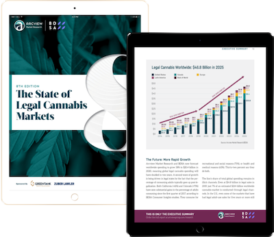"Report: Arcview 8th Edition of ""The State of Cannabis Markets"""