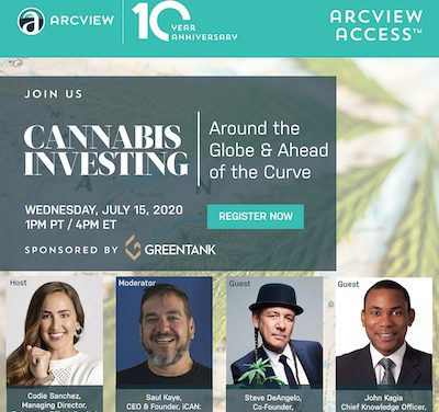 Cannabis Investing: Around the Globe & Ahead of the Curve