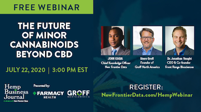 Hemp Cannabinoid Webinar Series Episode 3: The Future of Minor Cannabinoids