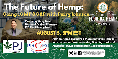 The Future of Hemp: Going cGMP & GAP with Perry Johnson