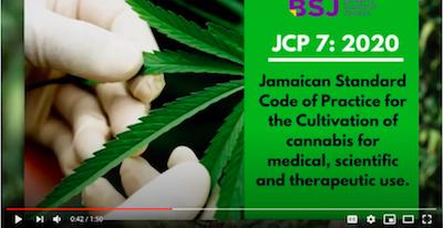 "Video: Bureau of Standards Jamaica Launch ""Cannabis Standards"""