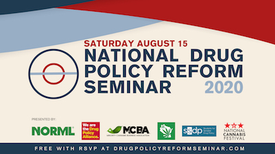 NORML – National Drug Policy Reform Seminar