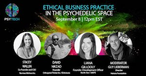 Webinar: PsyTech's Upcoming Webinar: Ethical Business Practice in the Psychedelic Space