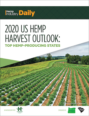 New Report: 2020 Hemp Harvest Outlook: Production acreage decreases for first year since 2014 hemp pilot re-established crop