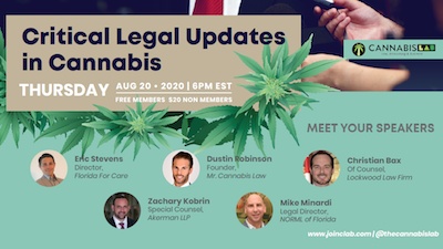 Critical Legal Updates In Cannabis