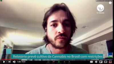 "Brazil x2 Videos – ""Special commission promotes technical meeting on drugs formulated with Cannabis  Fonte: Agência Câmara de Notícias"""