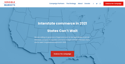 USA: The Alliance for Sensible Markets Campaign Launched – Push For Interstate Cannabs Trade Without Federal Legislation
