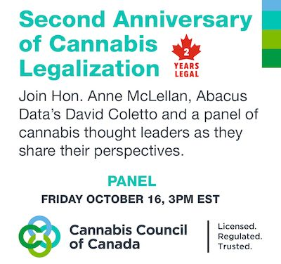 Canada: Second Anniversary of Cannabis Legalization
