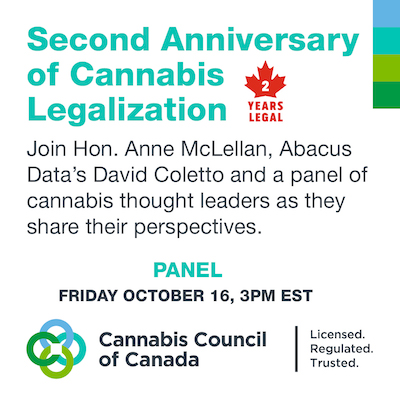 Canada: Second Anniversary of Cannabis Legalization