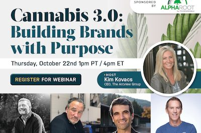Topic Arcview Access™ – Cannabis 3.0: Building Brands with Purpose