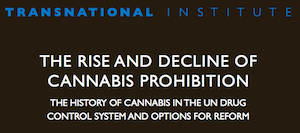 The Rise and Decline of Cannabis Prohibition – Paper: The History of Cannabis in the UN Drug Control System and Options For Reform