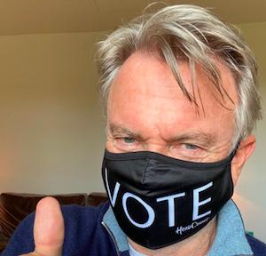 Election 2020 cannabis referendum: Sam Neill urges Kiwis to vote 'yes'