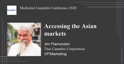 Online Medical Cannabis Conference: Accessing the Asian markets 3:00pm – 3:30pm, Nov 16