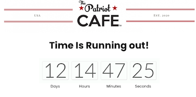 Remember We Reported On The Patriot Cafe Last Week ?