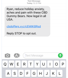 Text-message ads from marijuana companies spur spam-related lawsuits