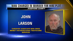 OR: Josephine County man accused of attempting to hire a hit man faces new felony drug charges of trafficking cannabis concentrate in his airplane.