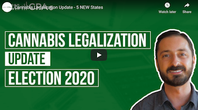 Video: GreenGrowth CPAs – Cannabis Legalization Update – 5 NEW States ( 4 November 2020_