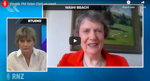 New Zealand: Former PM Helen Clark on cannabis referendum results