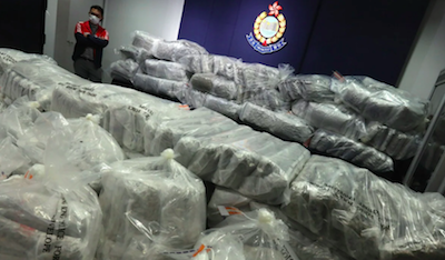 Hong Kong Teens increasingly involved in illegal import of cannabis products,  HK customs officers say