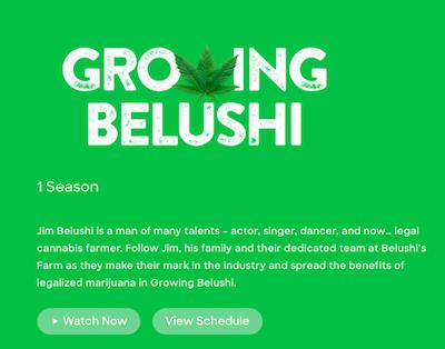 Belushi Premieres Growing Belushi Show To Get Around Advertising Regulations