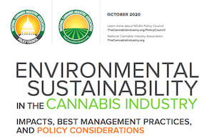 National Cannabis Industry Association Publishes Recommendations to Improve Environmental Sustainability