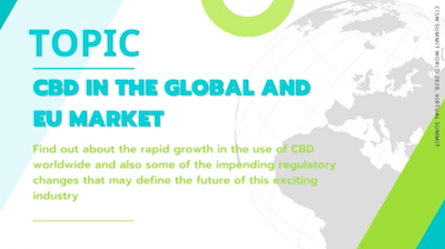 "CISW 2020 Day 2 – Nick Tulloch ""CBD in the Global and EU Market"""