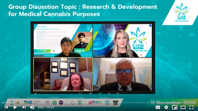 "CISW 2020 Day 1 – Panel Discussion ""Research & Development for Medical Cannabis Purposes"""