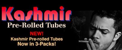 Cannabis Branding –  Kashmir Pre-Rolled Tubes – It's Still 1972