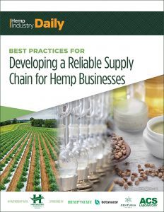 New Publication: Best Practices for Developing a Reliable Supply Chain for Hemp Businesses