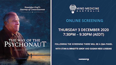 Online Screening: The Way of the Psychonaut: Stanislav Grof's Journey of Consciousness