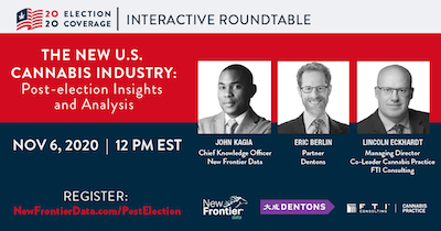 Webinar: The New U.S. Cannabis Industry: Post-Election Insights and Analyses