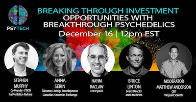 Webinar: Breaking Through Investment Opportunities with Breakthrough Psychedelics
