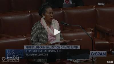 C-SPAN: House Debate on Federal Deregulation of Marijuana
