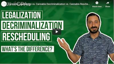 Green Growth CPA's – Cannabis Legalization vs. Cannabis Decriminalization vs. Cannabis Rescheduling