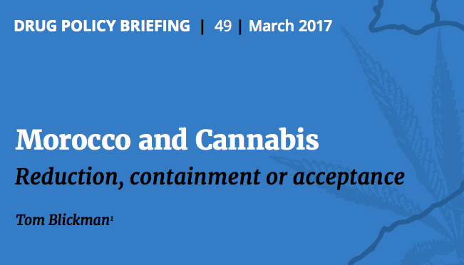 TNI: 2017 – Morocco and Cannabis: Reduction, containment or acceptance