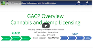 South Africa: GACP Overview related to Cannabis and Hemp Licensing