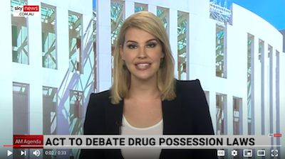 Australia: ACT Parliament to debate drug possession laws