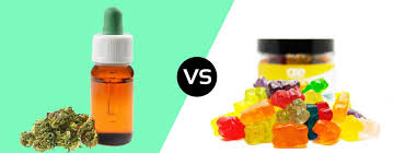 CBD Oil or CBD Gummies