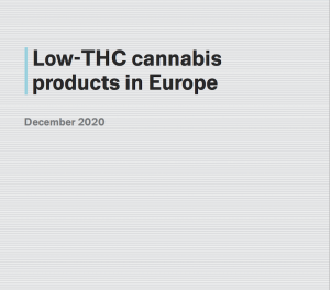 Report: Low-THC cannabis products in Europe – EMCDDA, Lisbon, December 2020