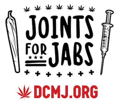DC Marijuana Justice To Hand Out Free Cannabis at Vaccination Sites Across the District of Columbia in Spring 2021