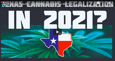 Texas to LEGALIZE or DECRIMINALIZE Cannabis in 2021?