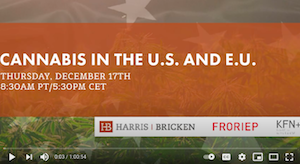 Harris Bricken Law Firm:  Cannabis in the U.S. and E.U.